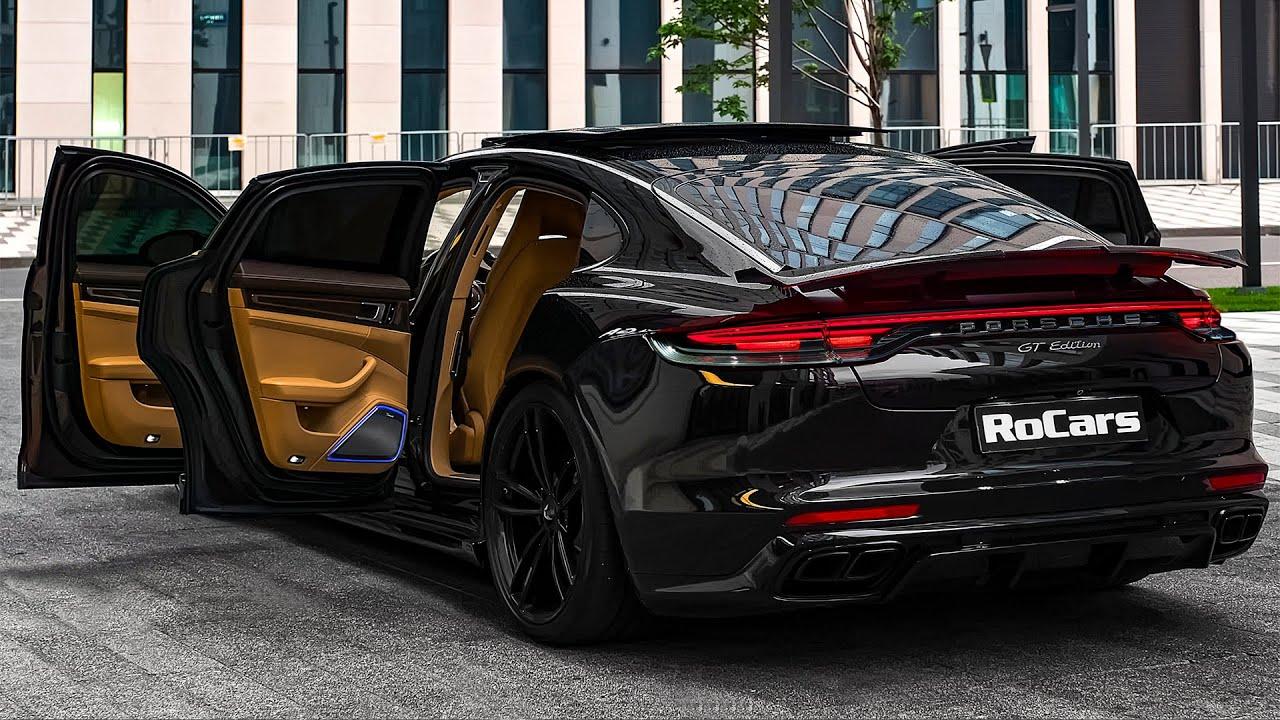 سيارة بورش باناميرا جي تي معدله Porsche Panamera Turbo GT