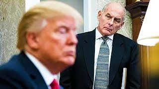 John Kelly Can't Take Much More Of Donald Trump