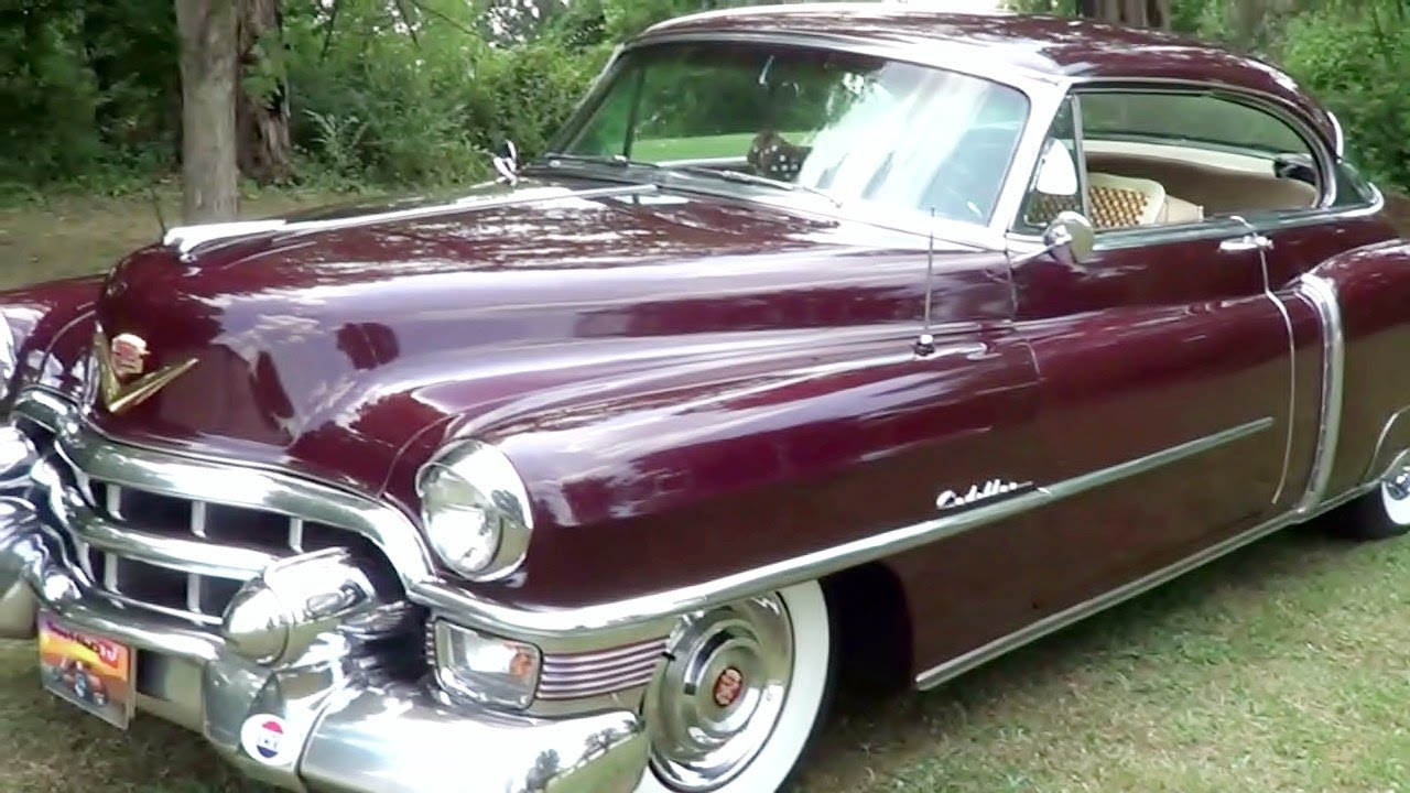 1953 Cadillac Coupe - YouTube