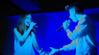 Carmen Navarro y David Parejo - Olvidé Respirar (cover live)
