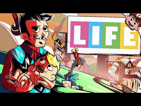LIFE IS FINALLY OVER! | Retired or Dead? (The Game Of Life Online)