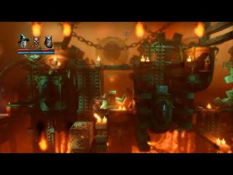 Trine Enchanted Edition - Walkthrough - 3 Players - Part 7 - Steam Remote Play |