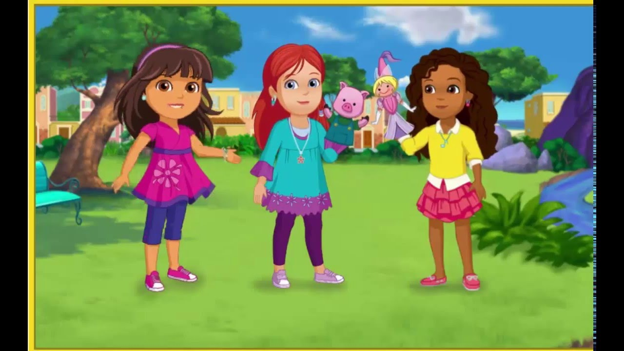 Dora l 39 exploratrice en francais dora and friends le - Jeux dora en arabe ...