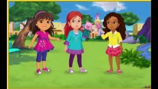 Dora l'exploratrice en francais Dora and friends Le Bracelet Magique gameplay