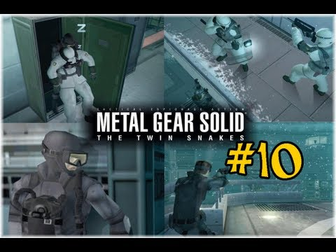 Metal Gear Solid: Twin Snakes - Faking Death, Escaping, Liquid Snake vs Solid Snake!
