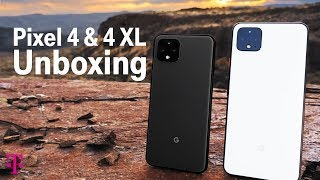 Google Pixel 4 & 4 XL Phone Unboxing & First Impressions | T-Mobile