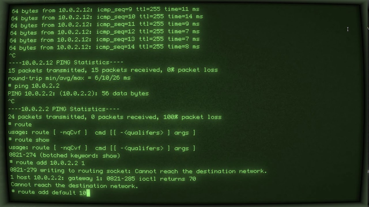 AIX 4 3 3 in qemu-system-ppc with retro terminal