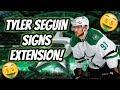 Dallas Stars EXTEND Tyler Seguin! | Auddie James