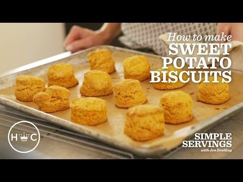 Sweet Potato Biscuits | Simple Servings
