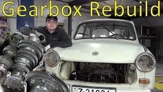 Rebuilding the Trabant's Engine: Part 2 - Rebuilding The Gearbox