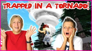 GETTING CAUGHT IN A TORNADO WITH RONALD!!!