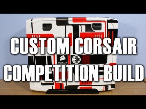 Full Build Video Custom Corsair Christmas Competition Case