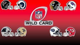NFL Wild Card Weekend Preview, Predictions & Break Down | NFL Playbook