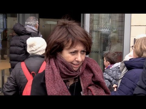 EXCLUSIVE : Valerie Bonneton at RTL radio station in Paris