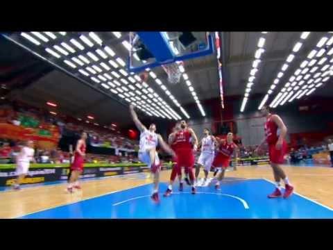 Highlights Montenegro vs Serbia EuroBasket 2013