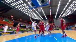 Highlights Montenegro vs Serbia EuroBasket 2013