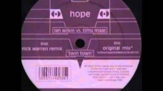 Ian Wilkie Vs Timo Maas - Twin Town (Nick Warren Remix)