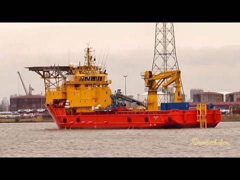 OCEAN ZEPHYR IMO 9000625 ex EDDA FREYA Emden Germany ship vessel offshore service Schiff
