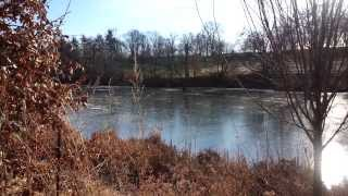 Ice Skating In The Highlands | Cherokee Park Golf Course Pond | Highlands Home Place