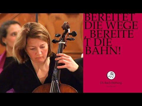 J.S. Bach - Cantata BWV 132 Bereitet die Wege, bereitet die Bahn!   3 Aria (J. S. Bach Foundation)