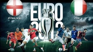 England V Italy Euro 2012 Quarter Finals 24/06/2012 (Predictor Highlights)
