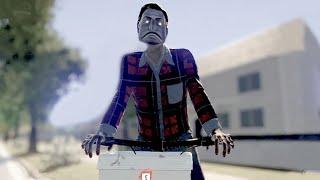 ゾンビに知性を与えて自転車とかパトカーを運転させたりして街を破滅させていくゲーム
