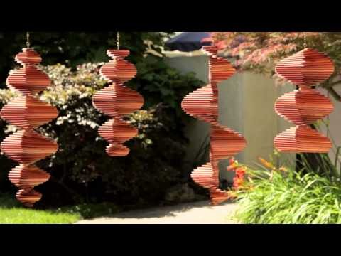 COMMERCIAL: Sunrise Arts - Wooden Wind Spinners