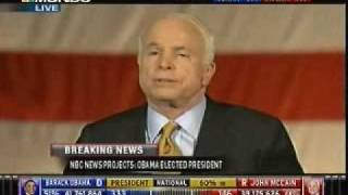 John McCain Concession Speech