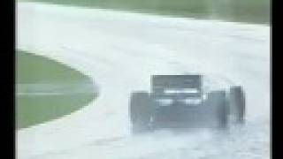 F1 1993 South Africa — Last Laps (Live BBC coverage)