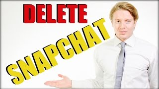 How To Delete Snapchat Account Permanently 2016