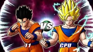 Dragon Ball: Raging Blast 2  Gohan Definitivo vs Goku ssj2
