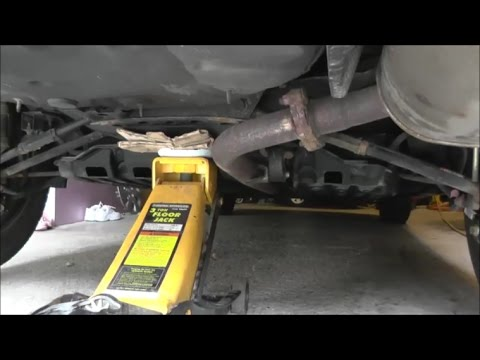 How to lift half of the Toyota/Lexus car with floor Jack