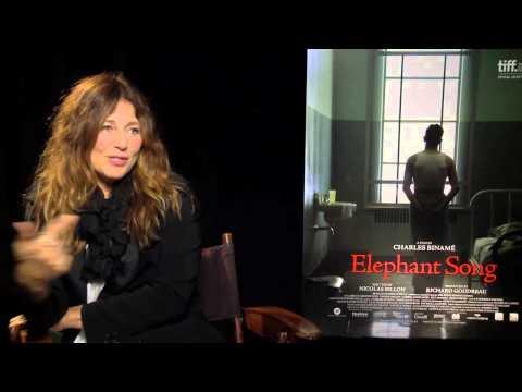 "Catherine Keener Interview ""Elephant Song"""