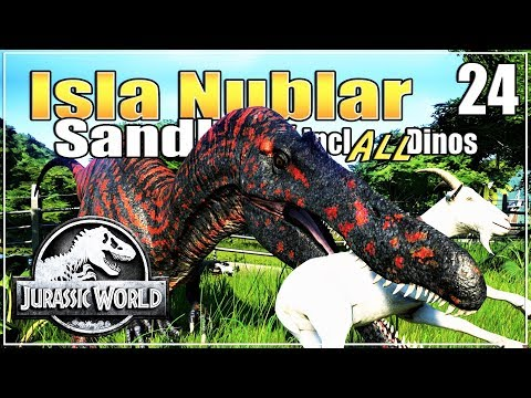 🦕 Those Poor Goats! And 31 More Carnivores! | Jurassic World Evolution Sandbox | Ep. 24