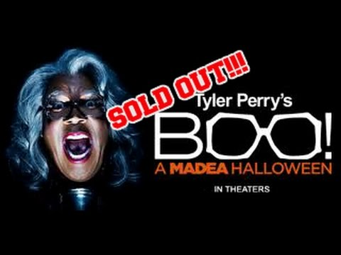 SOLD OUT!! Boo! A Madea Halloween FIRST REVIEW!! } 10-21-2016