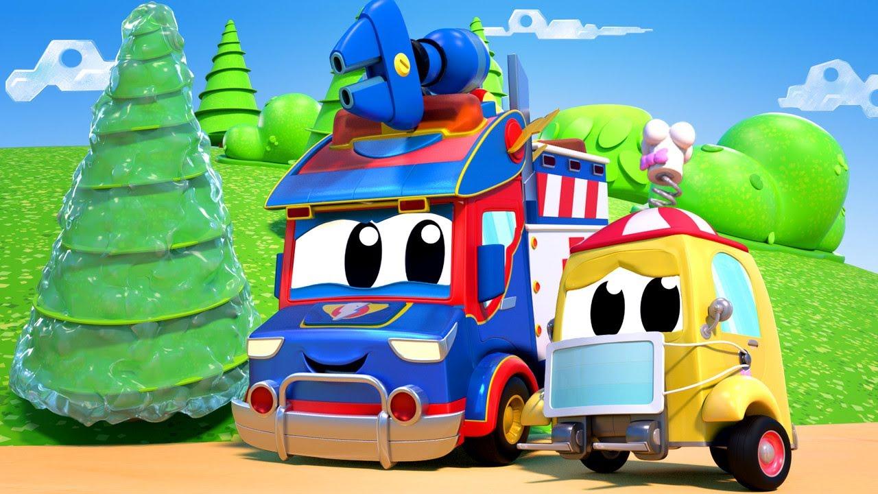 Phim hoạt hình về xe tải dành cho thiếu nhi –  Siêu xe cứu thương chữa lành cơn cảm cúm
