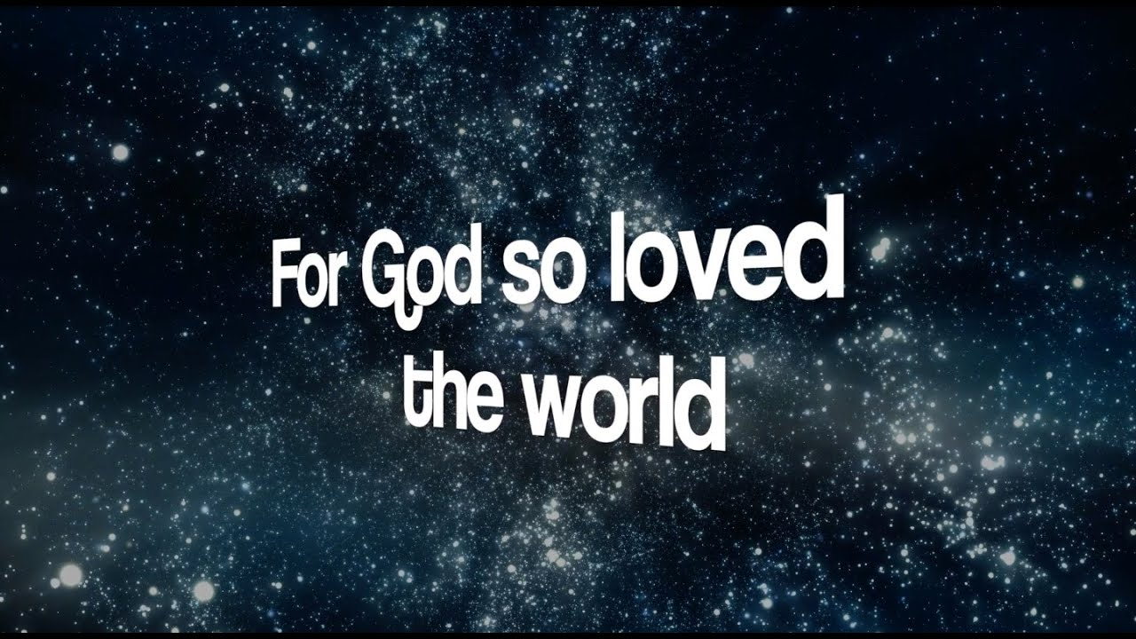 For God So Loved The World - Music and Lyrics by Daniel ...