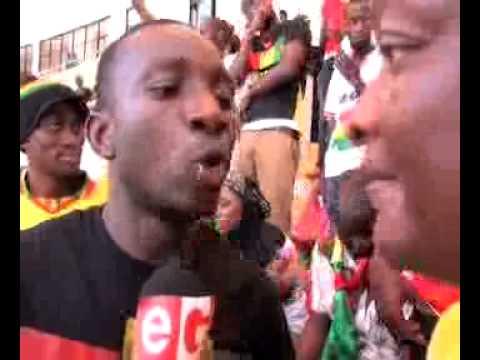 FANSZONE GHANA vs GUINEA