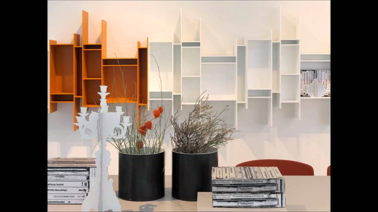wall hanging shelves design