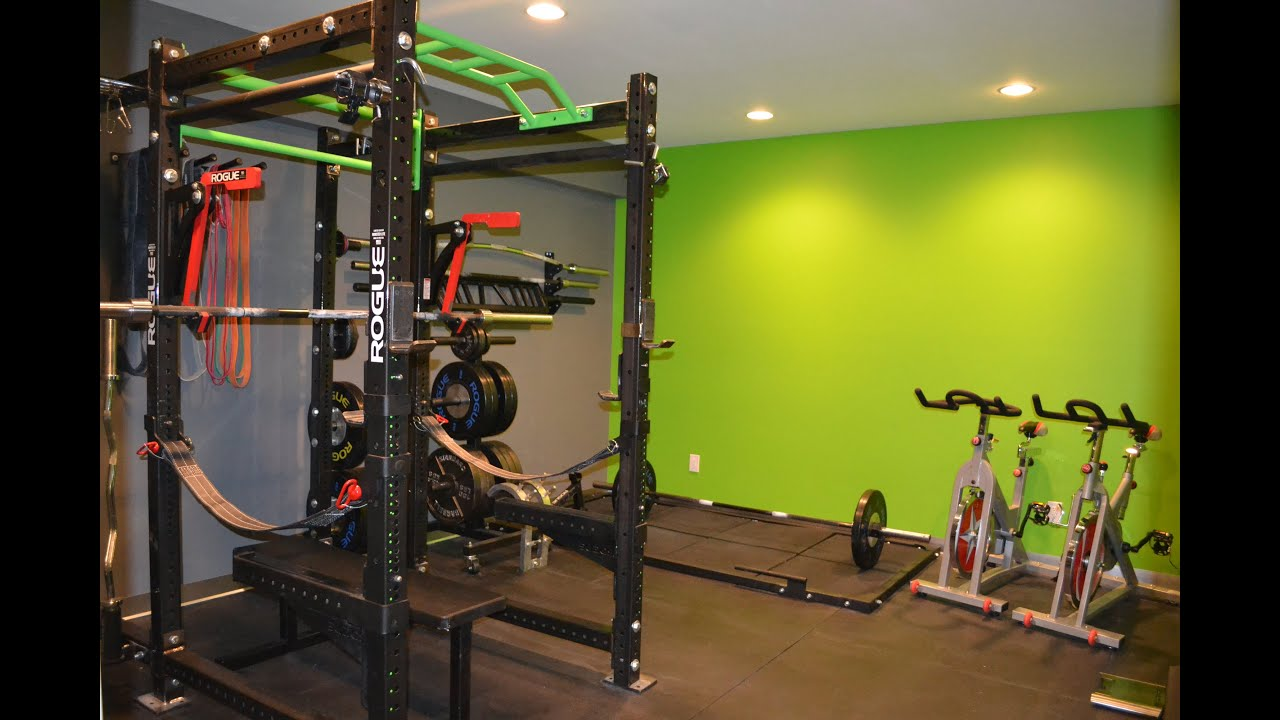 Home gym basement tour youtube - Images of home gyms ...