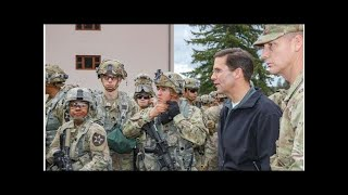 Army secretary visits Lewis-McChord amid deployments to US-Mexico border