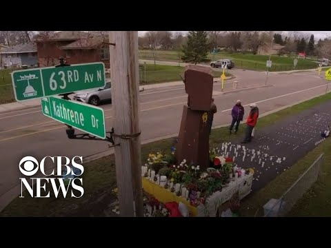 Brooklyn Center, Minnesota, residents mourn death of Daunte Wright