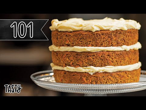 How To Bake The Best Carrot Cake You'll Ever Eat •Tasty