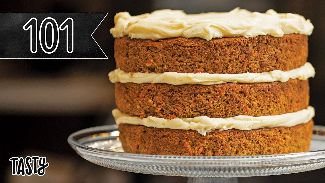 How To Bake The Best Carrot Cake You'll Ever Eat • Tasty