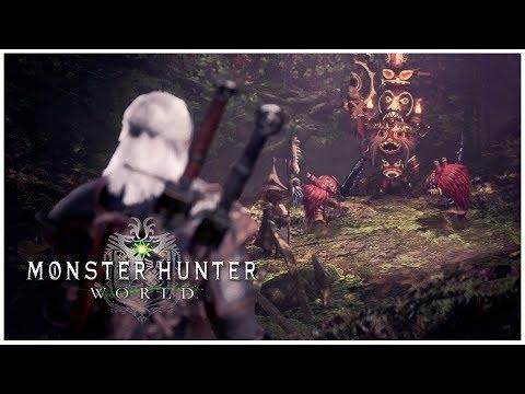 monster hunter world geralt quest