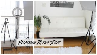 My Filming Room/ Set-up Tour 2017!!