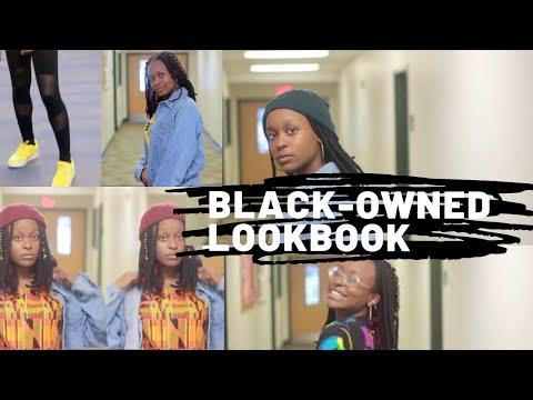 Black owned lookbook