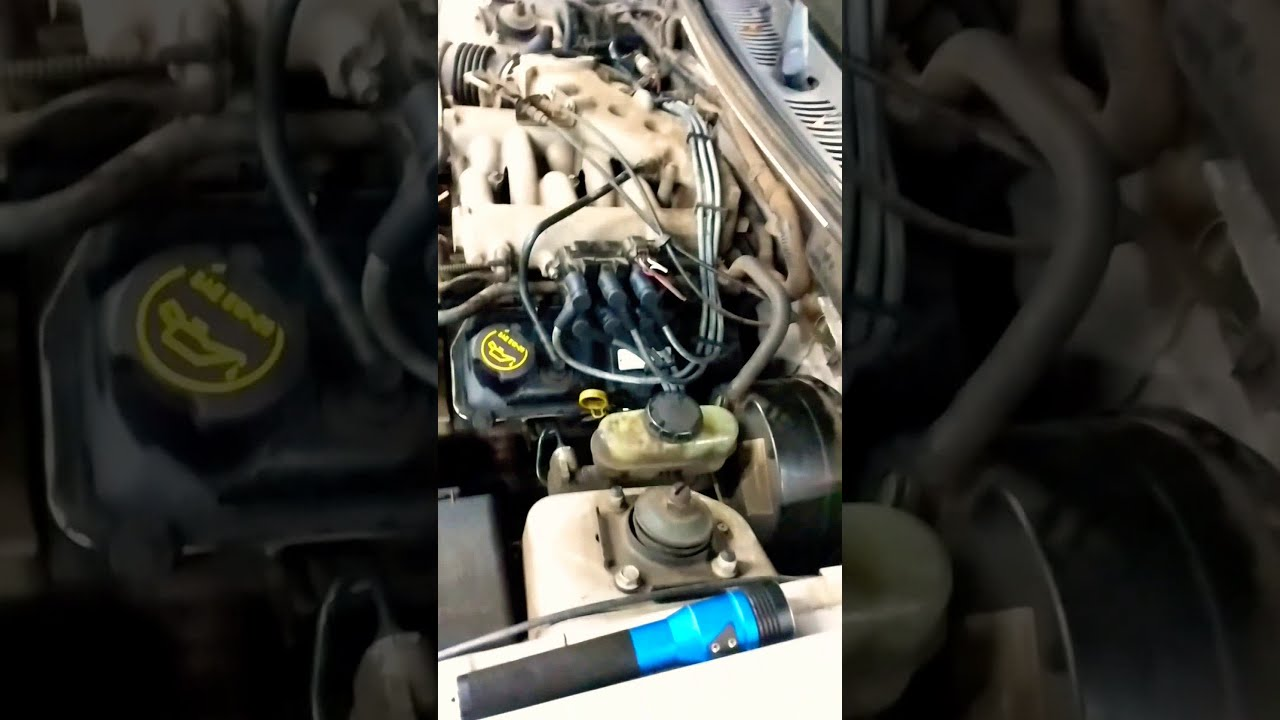 ford 3 8 v6 engine diagram changing spark plugs and wires on 2002 ford mustang 3 8l youtube  wires on 2002 ford mustang 3 8l