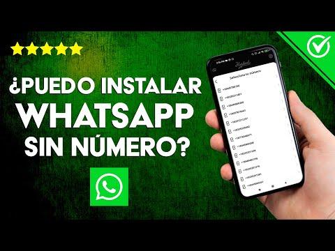 ¿Puedo Activar e Instalar WhatsApp sin Número ni Código de Verificación?