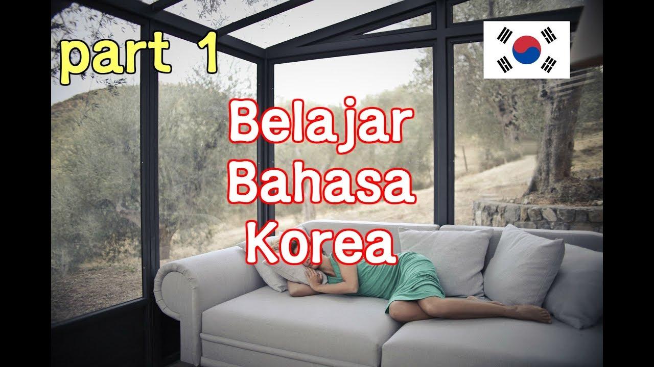 Belajar Bahasa Korea   Kosa kata Frase dan tatabahasa   #1 - YouTube